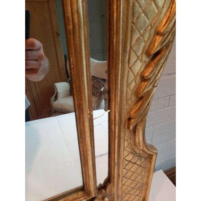Italian Florentine Gilt Wood Mirror For Sale - Image 4 of 10