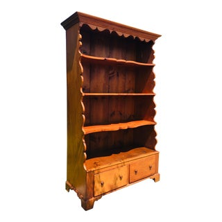 Antique Country Pine Cupboard For Sale
