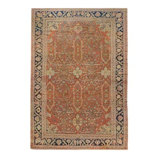 Early 20th Century Palatial Sultanabad Rug For Sale