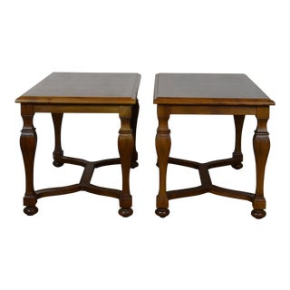 1980s Italian Style Side Tables - a Pair For Sale