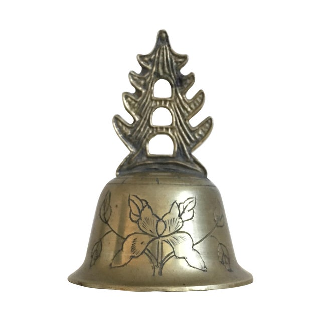 Oriental Petite Palace Brass Bell - Image 1 of 4