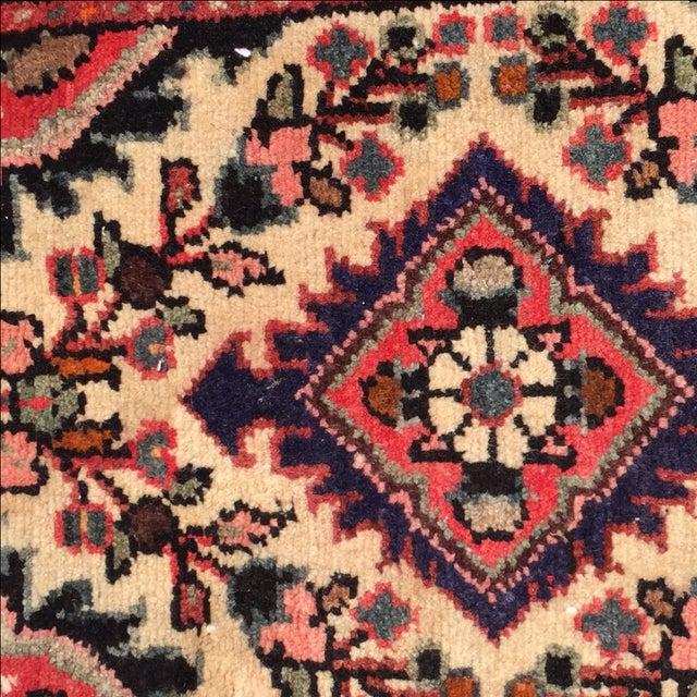 Hamadan Persian Rug - 1′6″ × 2′2″ - Image 6 of 10