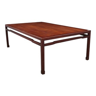Custom Ming Rosewood Table For Sale