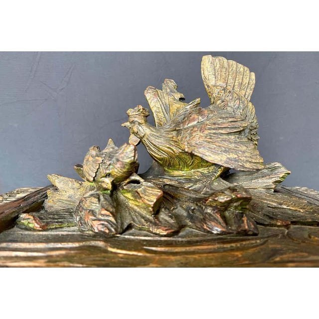 19th Century Black Forest Tantalus Bar For Sale - Image 10 of 13