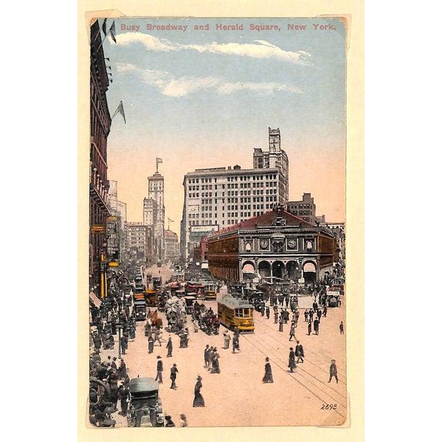 1915 New York City, Herald Square Postcard - Image 3 of 4