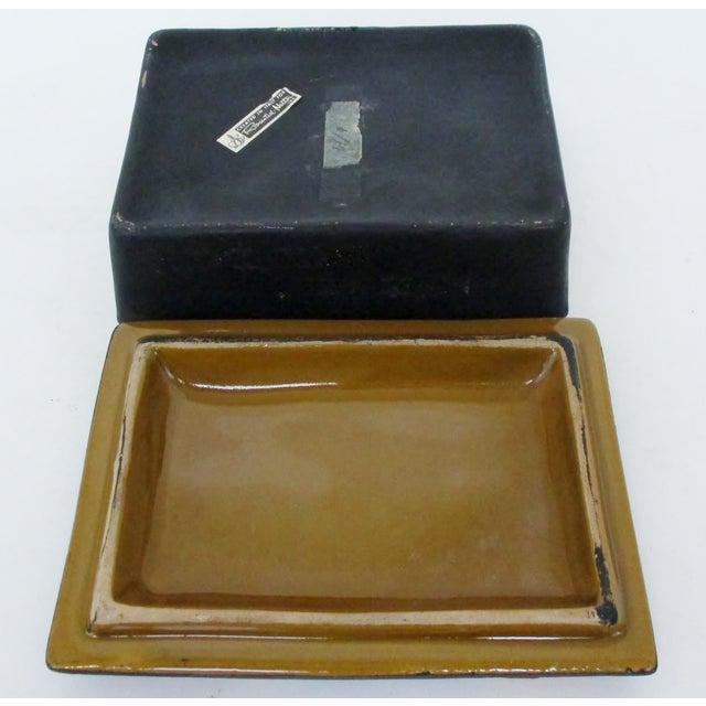 Ceramic Bitossi Rosenthal Netter Ceramic Box For Sale - Image 7 of 9