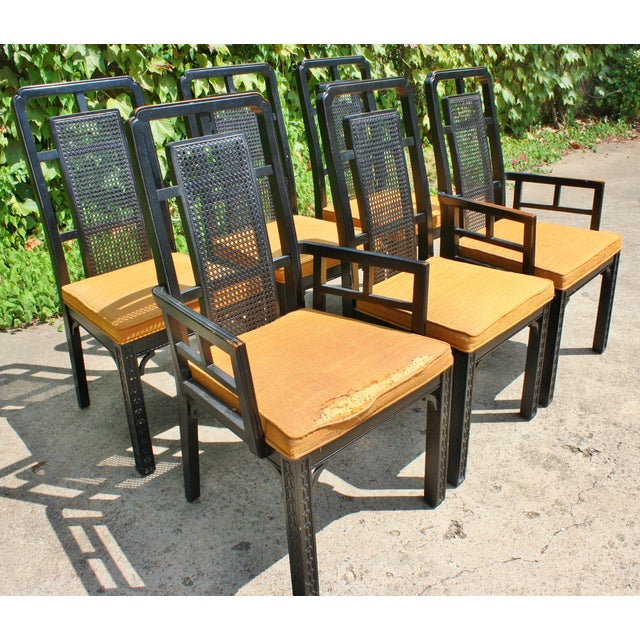 Vintage Chinese Chippendale Chairs - Set of 6 - Image 4 of 9