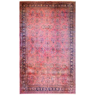 1920 Persian Kashan Rug For Sale