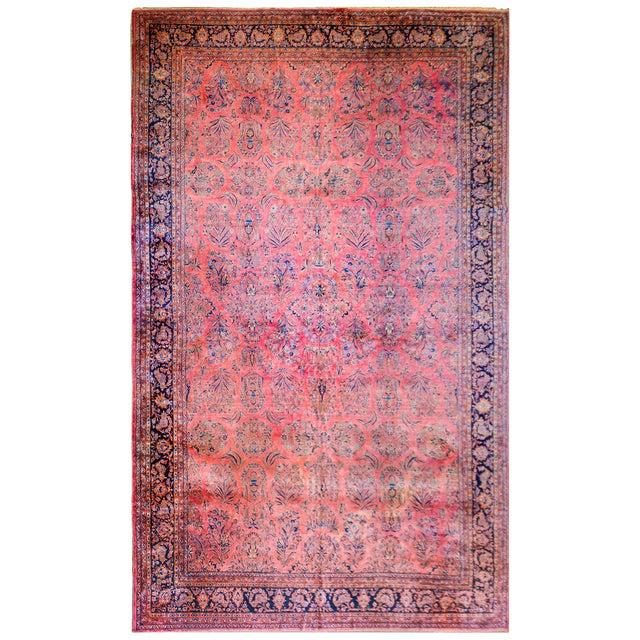 1920 Persian Kashan Rug For Sale