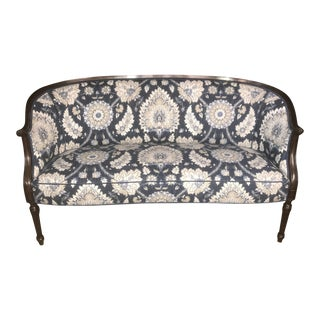 1920s Vintage French Provincial Settee For Sale
