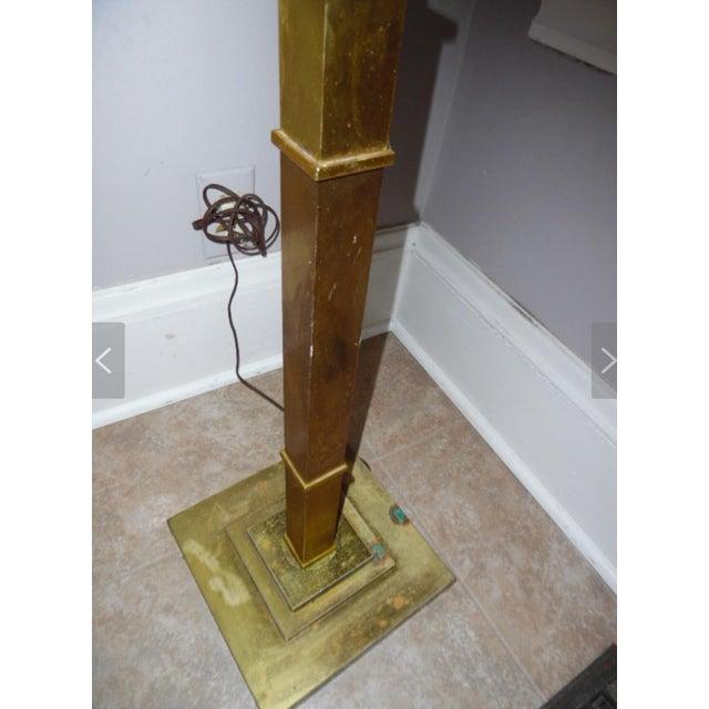 Mid-Century Modern 20th Century Brass Floor Lamp For Sale - Image 3 of 5
