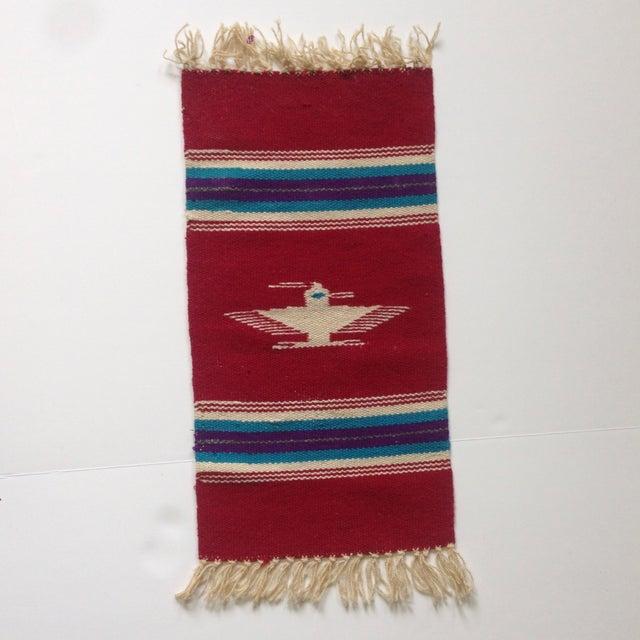 Handwoven Navajo Style Wall Hanging Rug - Image 2 of 11
