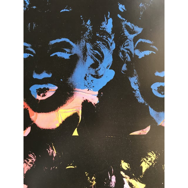 Artist - Andy Warhol Title - 4 Multicolored Marilyns / 1966 Edition - Open edition (Andy Warhol Foundation / Achenbach Art...