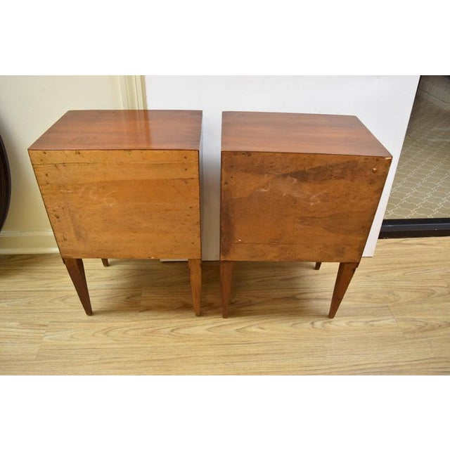 Pair of Vintage Italian Nightstands For Sale - Image 4 of 10