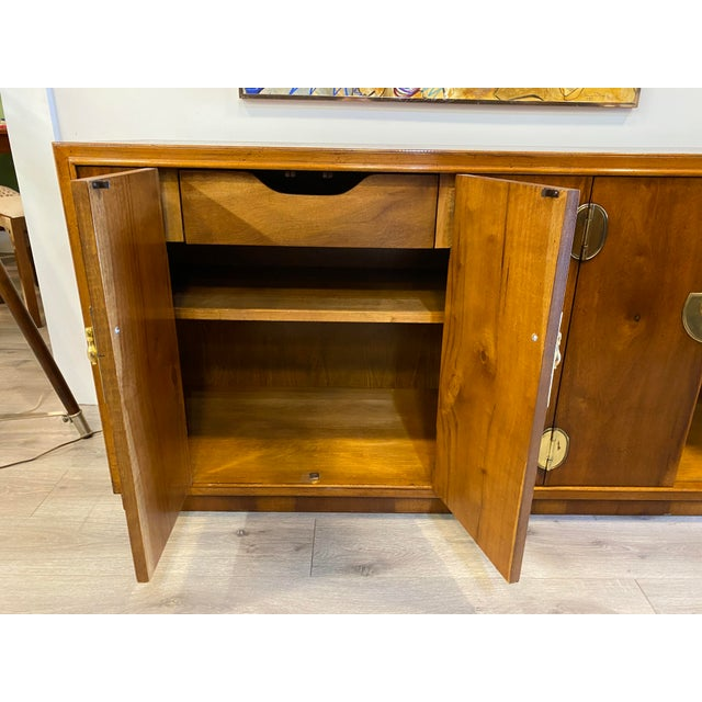 Midcentury Credenza Signed by Lane Furniture For Sale In New York - Image 6 of 12