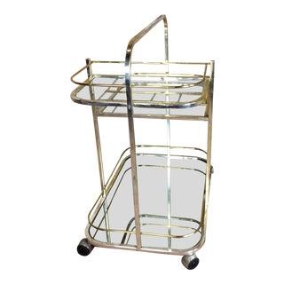 Milo Baughman Modern Tea Cart 1960' in Good Condition For Sale