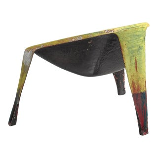 Molded Fiberglass Prototype Chair by Dutch Architect Ing. G. J. Athmer For Sale