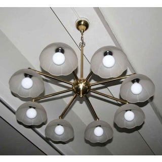 Traditional Brass & Milk Glass Parlor Light Preview
