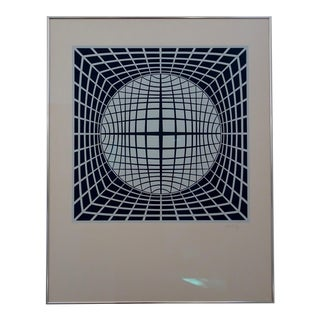 Victor Vasarely Ter-Ur Print