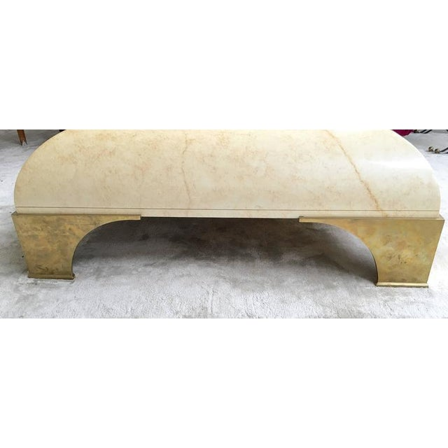 Parchment Finish Cocktail Table - Image 6 of 8