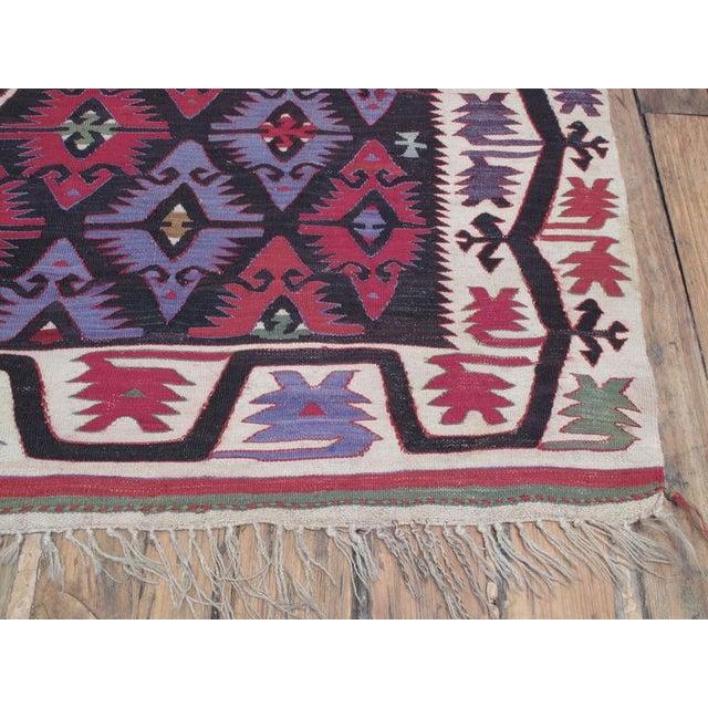 1950s Adana Kilim For Sale - Image 5 of 7