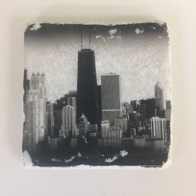 World Cities Coaster, Set of 4 For Sale - Image 9 of 9