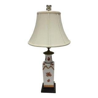 Vintage Honi Chilo Traditional Porcelain Table Lamp For Sale