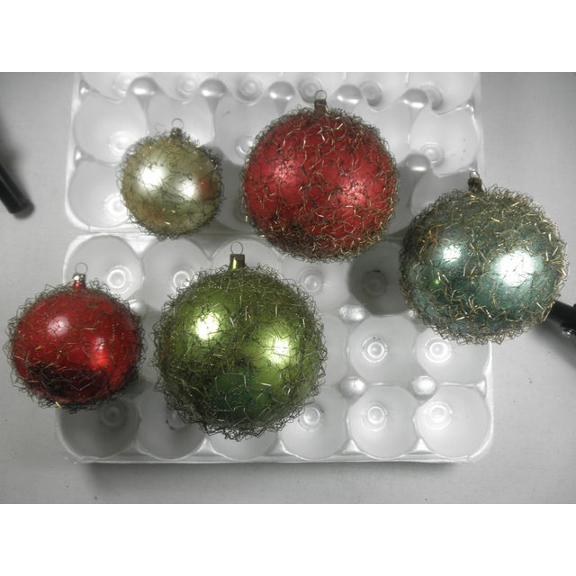 Wire-Wrapped Ornaments - Set of 5 - Image 2 of 4