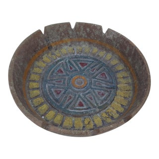 Italian Bitossi Studio Pottery Ashtray For Sale