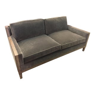 Modern Century Furniture Gray Sofa For Sale