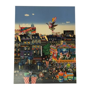Hiro Yamagata Serigraph 'Once Upon a Time 1986' For Sale