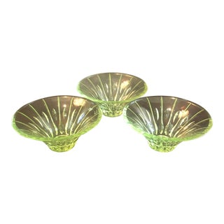 Waterford Sheridan Lead Crystal Bowls - Set of 3 For Sale
