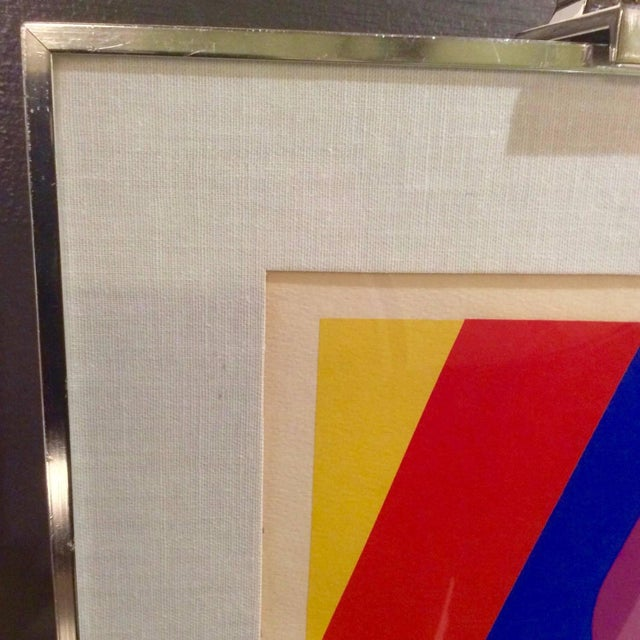 Mid-Century Limited Edition Abstract Graphic Print - Image 6 of 7