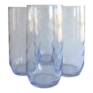 Vintage Swirl Cooler Glasses - Set of 4