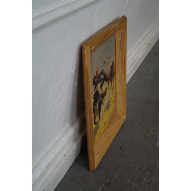 Brandt Ranch Oak Framed Cowboy Print - Image 3 of 10