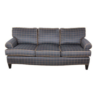 Contemporary Upholstered Sofa by Smith Brothers For Sale