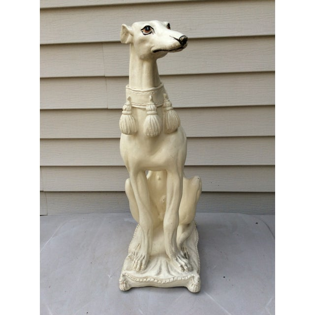 Pottery or terra cotta is my favorite medium for larger figurines & statues. The surface has a living feel as well as a...