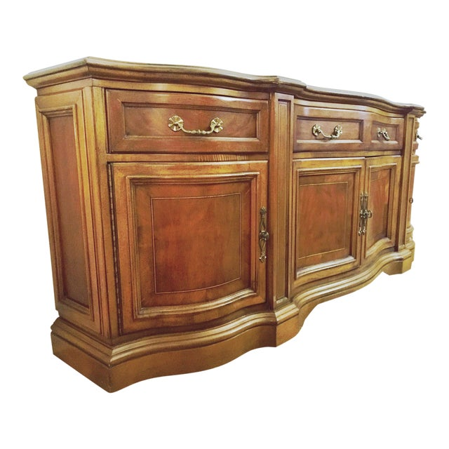 Vintage Traditional Wood Crendenza - Image 1 of 8