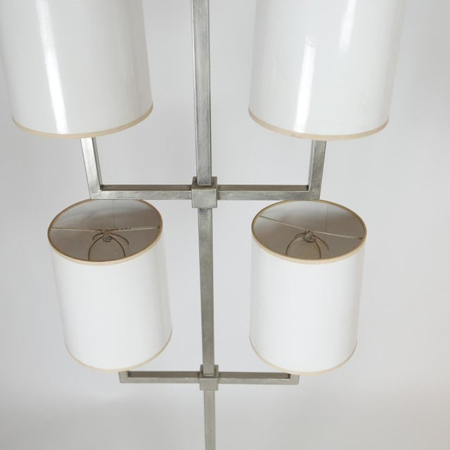 Hollywood Regency Very Rare Limited Production Tommi Parzinger Floor Lamp for Lightolier For Sale - Image 3 of 12