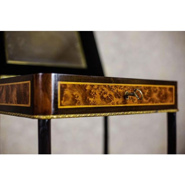 Victorian 19th-Century Victorian Encrusted Vanity Table For Sale - Image 3 of 11