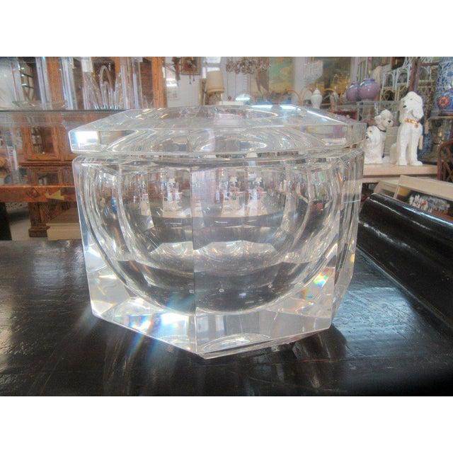 Mid-Century Lucite Ice Bucket - Image 8 of 8