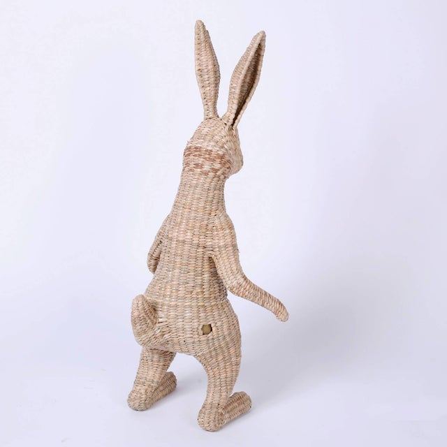 Wicker Mario Torres Rabbit For Sale In West Palm - Image 6 of 8