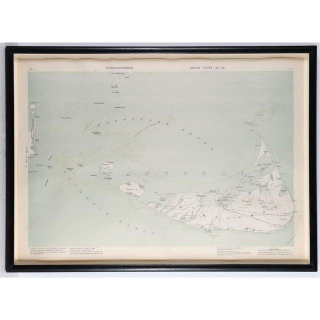 Early 20th Century Nantucket Map on charles river map, suffolk county map, billingsgate island map, cape cod map, newport map, united states map, south carolina map, martha's vineyard map, hudson ma on map, hyannis map, maine map, block island map, long island map, hawaii map, massachusetts map, boston map, connecticut shore map, north carolina map, new england map, plymouth map,