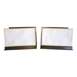 Kevin Reilly for Holly Hunt Steppe Sconces - a Pair For Sale