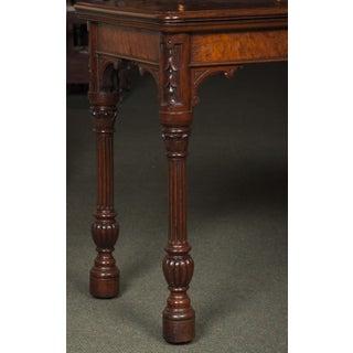Antique Gothic Pollard Oak Card Table Preview
