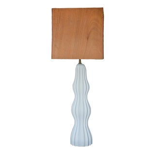 Ripple Table Lamp by MarGian Studio For Sale