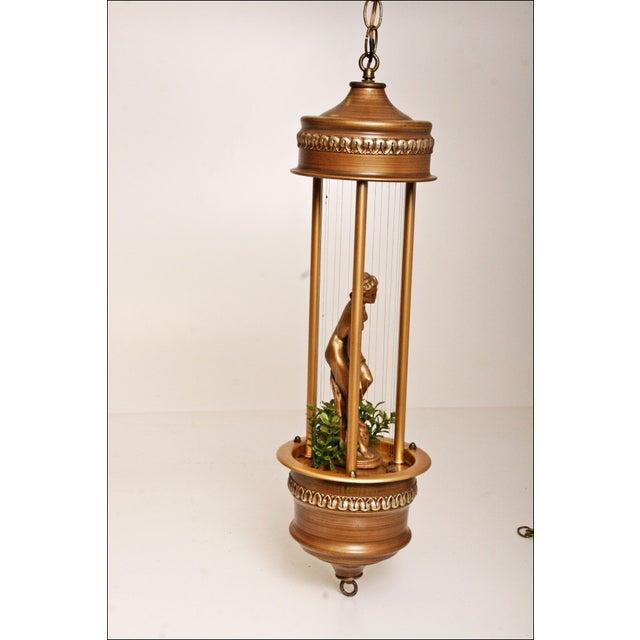 Vintage Mineral Oil Hanging Lamp - Image 8 of 11
