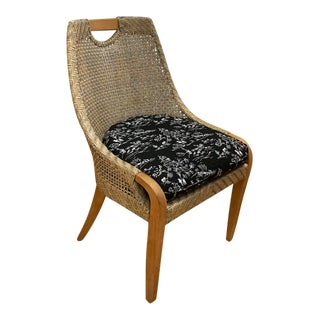Lane Venture Boho Chic Edgewood Dining / Side Chairs For Sale