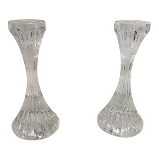 Baccarat Massena Candlesticks a Pair For Sale