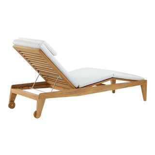 Summit Furniture Boomerang Chaise For Sale